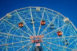 Wonder Wheel auf Coney Island in New York