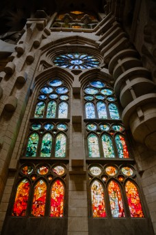 Fenster in der Sagrada Familia