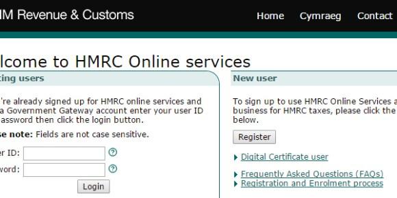 HMRC Online services copy