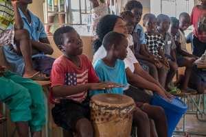 Besuch einer Schule in Zambia
