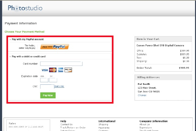 PayPal Payments Pro vs PayPal Payments Advanced for WPEC |