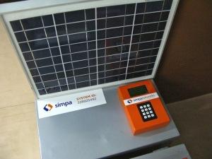 Solar panel by Simpa