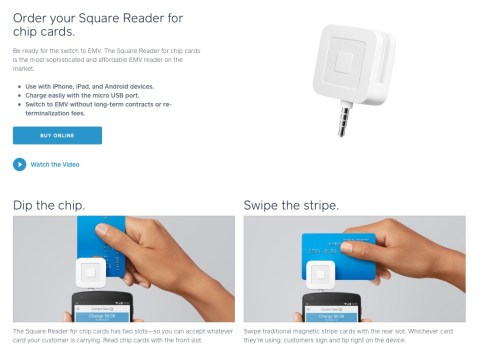 square swipe chip and dip