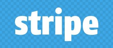 stripe logo funny busienss blue
