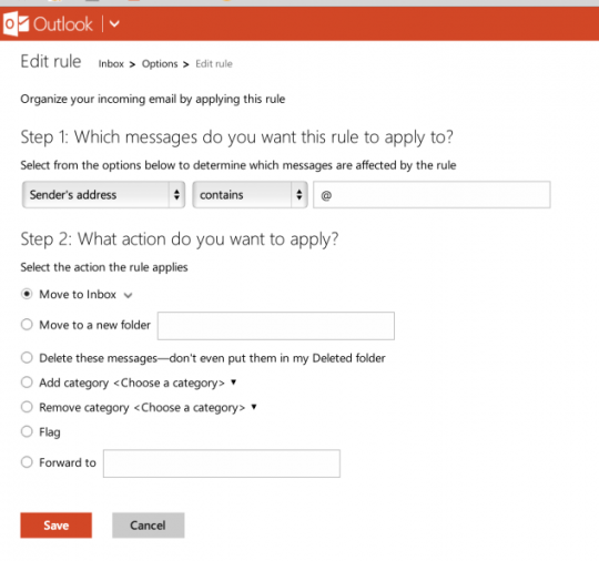 turn off spam filter in outlook hotmail
