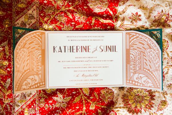 Wedding invites grandeur Asian