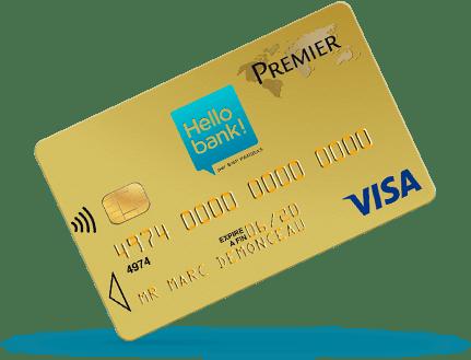 HELLO BANK - compte gratuit avec CB VISA PREMIER gratuite.