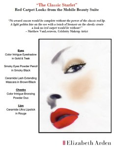 Elizabeth arden classic starlet face chart also how to create three glamorous makeup looks hello beauty rh hellobeautyblog