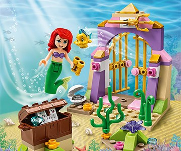 REVIEW LEGO 41050 – Les trésors secrets d'Ariel