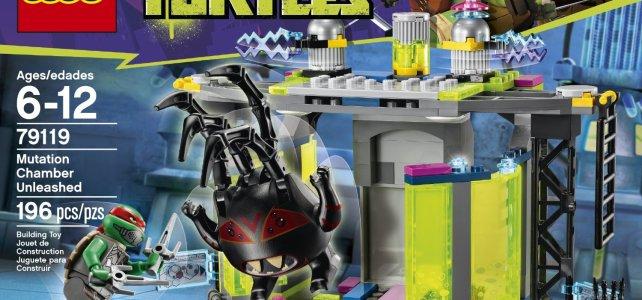 REVIEW LEGO 79119 TMNT - La chambre de mutation