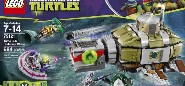 REVIEW LEGO 79121 TMNT – Course-poursuite sous-marine