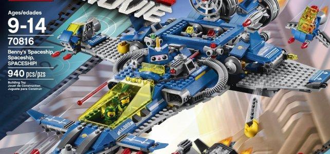 REVIEW LEGO 70816 The LEGO Movie – Benny's Spaceship, Spaceship, SPACESHIP !
