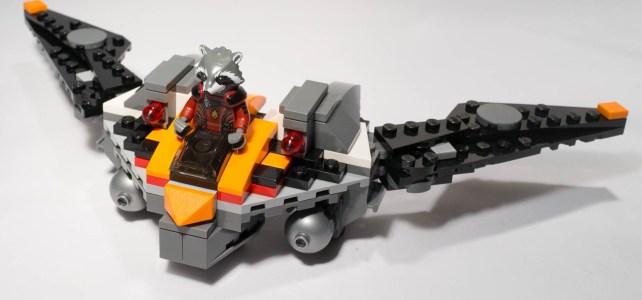 REVIEW LEGO SDCC 2014 – Rocket Raccoon's Warbird