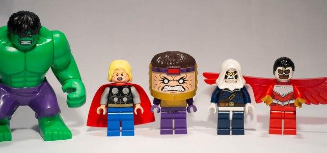 REVIEW LEGO 76018 Marvel Super Heroes – Hulk Smash Lab