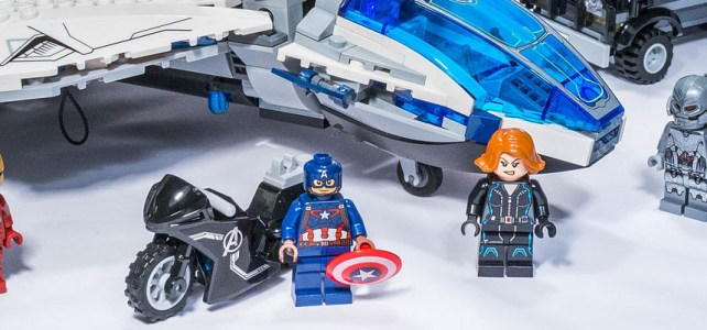 REVIEW LEGO 76032 – Marvel – The Avengers Quinjet City Chase