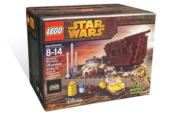 LEGO Tatooine Mini Build box