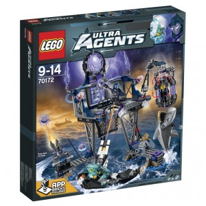LEGO Ultra Agents AntiMatter's Portal Hideout (70172)