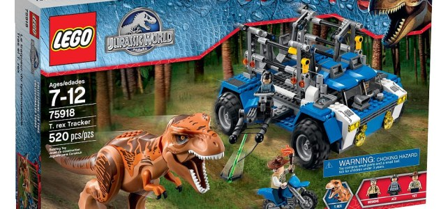 Les sets LEGO Jurassic World sont disponibles sur le Shop@Home