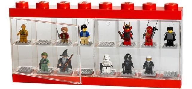 LEGO vitrine stand minifigs 3