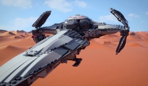 75096 Sith Infiltrator video 8