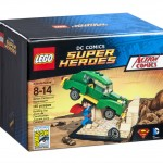 SDCC 2015 LEGO DC Comics Super Heroes Action Comics #1 Superman
