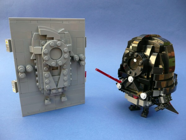 LEGO Minions Vader and Solo