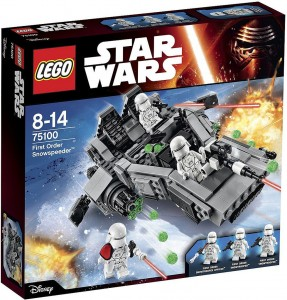 75100 First Order Snowspeeder box bons plans LEGO