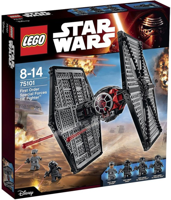 75101 First Order Special Forces Tie Fighter box