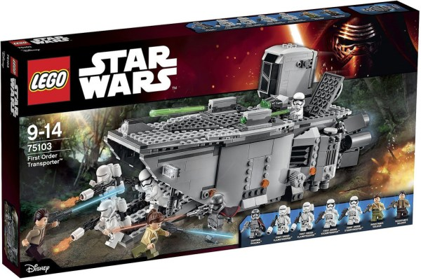 75103 First Order Transporter box