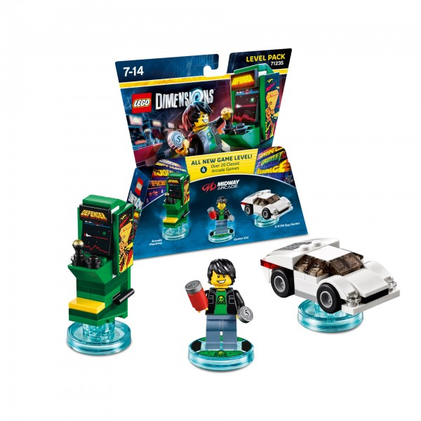 Level Pack 71235 Midway Arcade Retro Gamer
