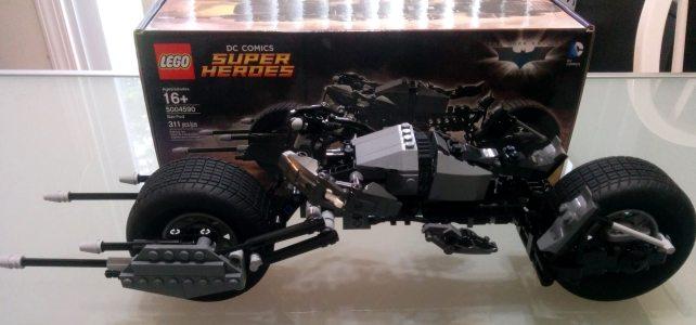 LEGO DC Comics Bat-Pod (5004590) : liste des pièces et instructions