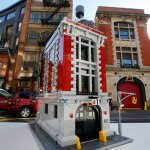 LEGO 75827 Ghostbusters Firehouse Headquarters side view