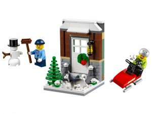 LEGO Seasonal 40124 Winter Fun
