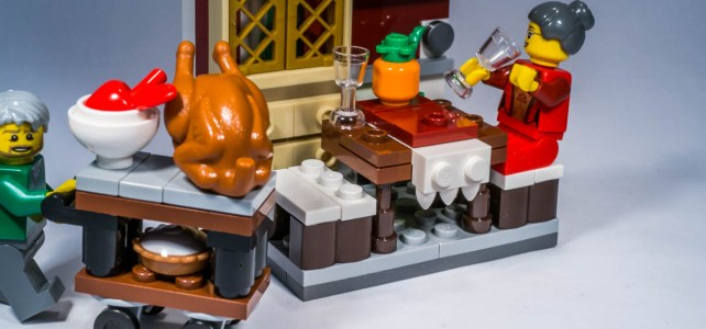 REVIEW LEGO 40123 – Seasonal – Thanksgiving Feast