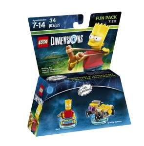 LEGO Dimensions 71211 The Simpsons Bart Fun Pack