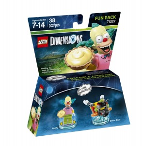 LEGO Dimensions 71227 Krusty Fun Pack