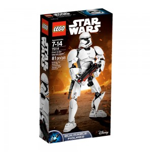 LEGO Star Wars Constraction Figures 75114 First Order Stormtrooper box