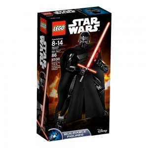 LEGO Star Wars Constraction Figures 75117 Kylo Ren box