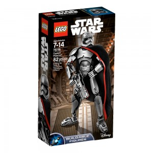 LEGO Star Wars Constraction Figures 75118 Captain Phasma box