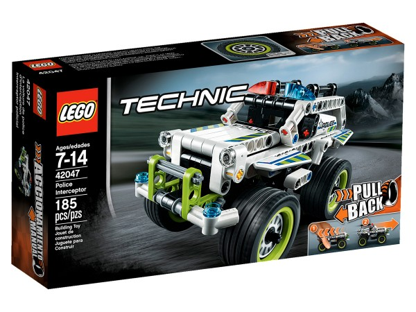 LEGO Technic 2016 42047 Police Interceptor