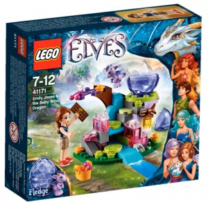 LEGO Elves 41171 Emily Jones and the Baby Wind Dragon