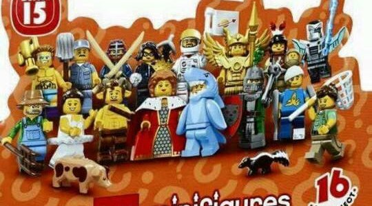 Collectible Minifigures Series 15