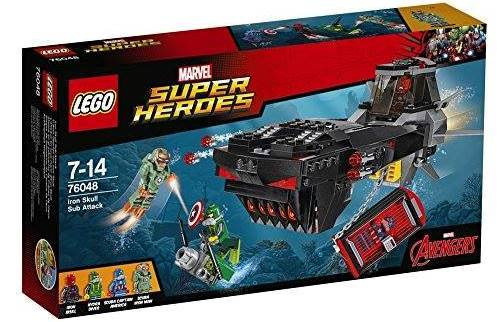 LEGO Marvel Super Heroes Iron Skull Sub Attack (76048) box