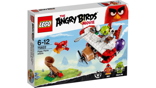 LEGO Angry Birds 75822 Piggy Plane Attack