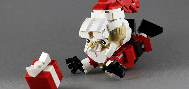 LEGO Pere Noel action