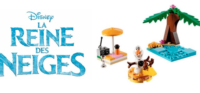 Polybag LEGO Disney Princess 30397 Olaf's Summertime Fun