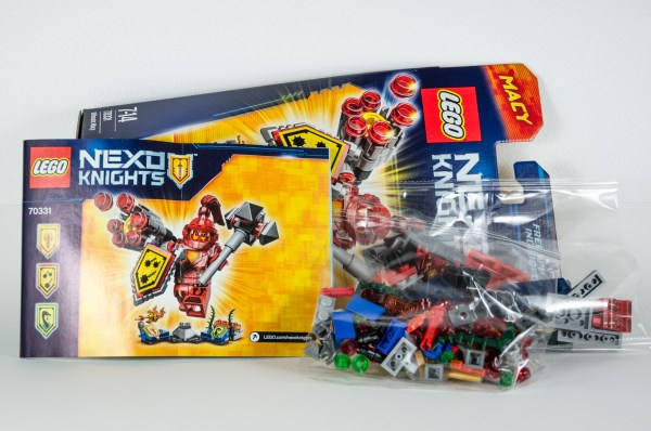 Review LEGO Nexo Knights 70331 Ultimate Macy_03