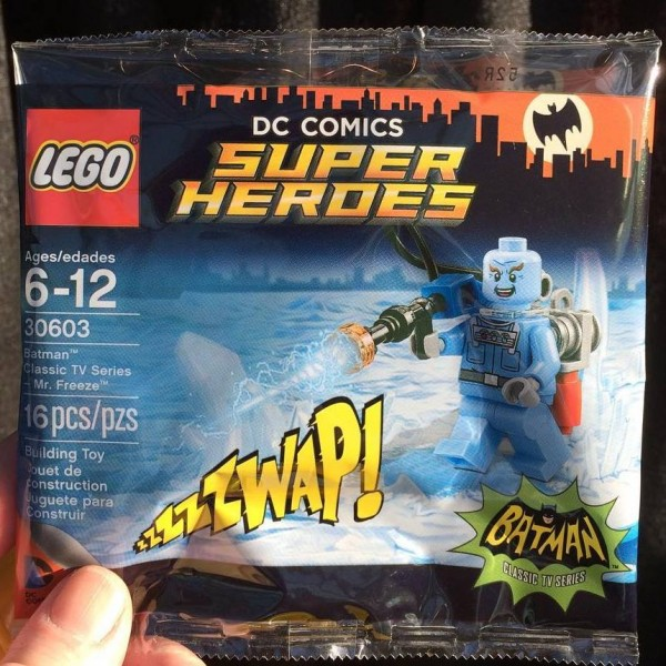Polybag DC Comics 30603 LEGO Mr Freeze