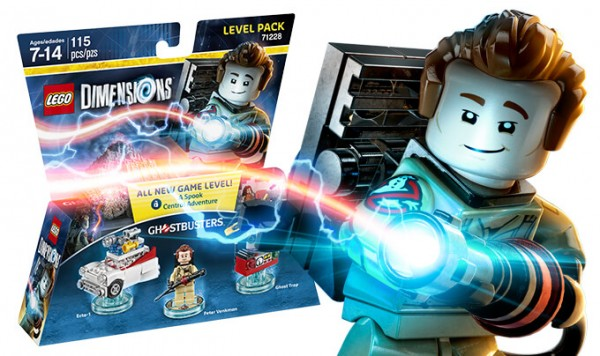 REVIEW LEGO Dimensions 71228 Ghostbusters Peter Venkman (Level Pack)