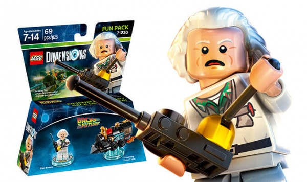 REVIEW LEGO Dimensions 71230 Doc Brown